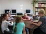 Wakacje w bibliotece w Sieroszewicach 2